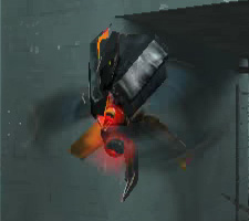 Thumbnail of a 'manhack' robot from the game Half-Life 2.