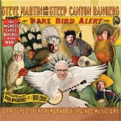 Cover for the Rare Bird Alert bluegrass album