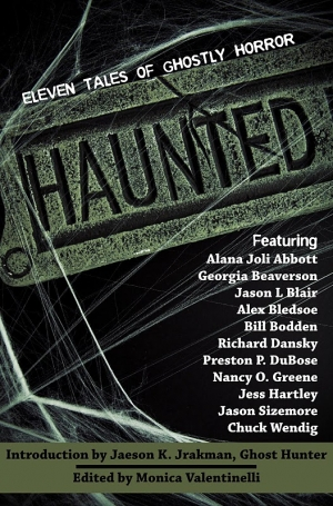 cover thumbnail of the Haunted anthology