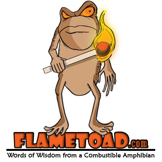 Flametoad